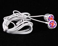 Union Jack earphones